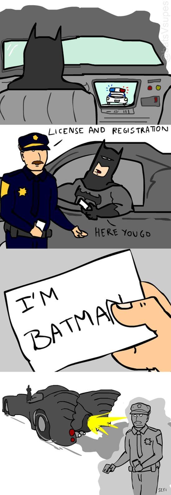 Batman igazoltatás