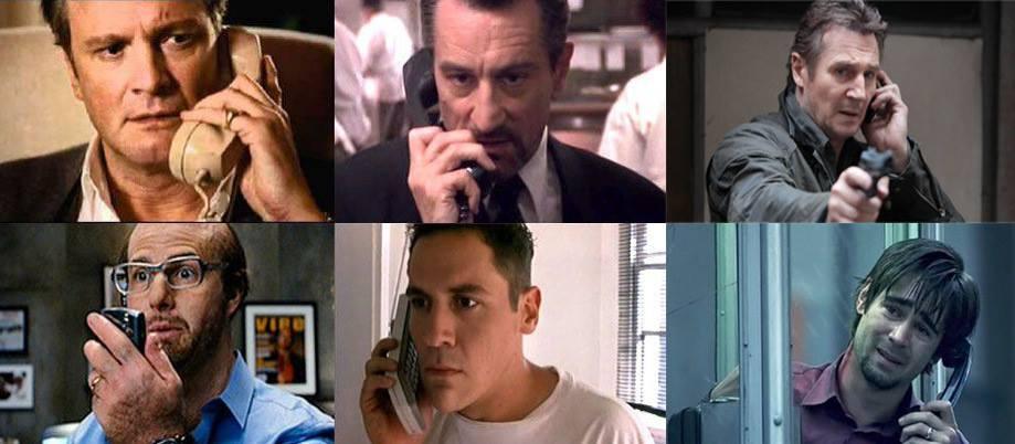 a telefonnál Hollywood