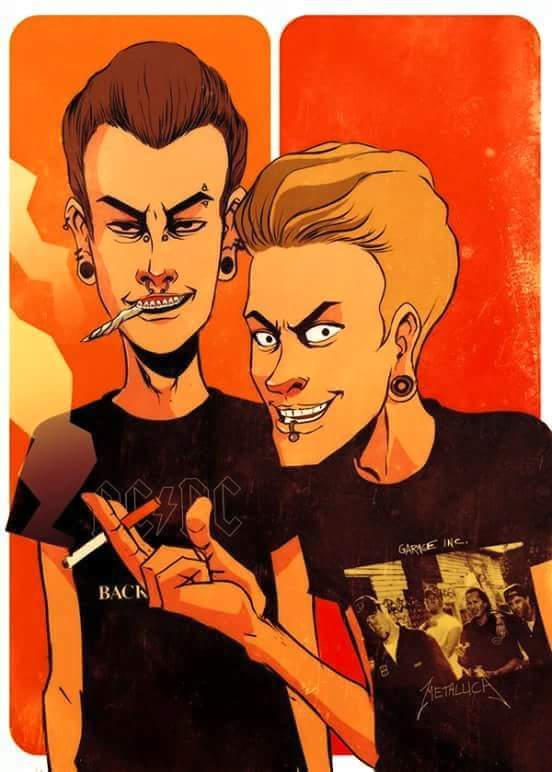 Beavis and Butthead ma