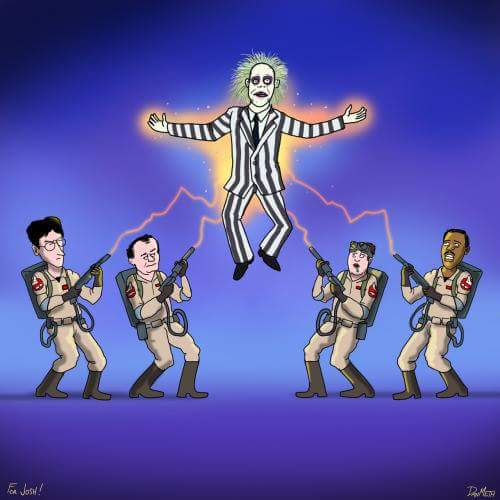 Beetlejuice vs. Ghostbusters