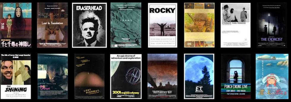 Élő filmplakátok