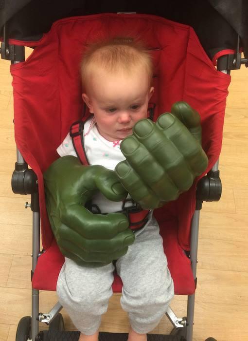 Hulk gyerekkora