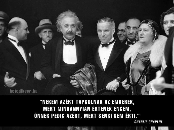 Einstein és Chaplin