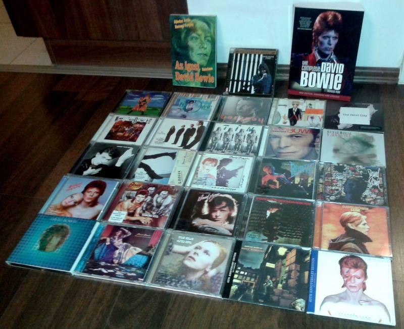 David Bowie gyűjtemény