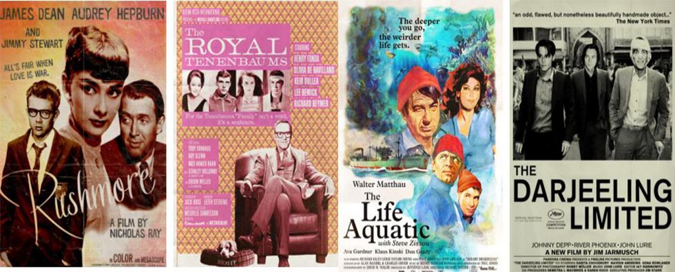 Wes Anderson movies in past