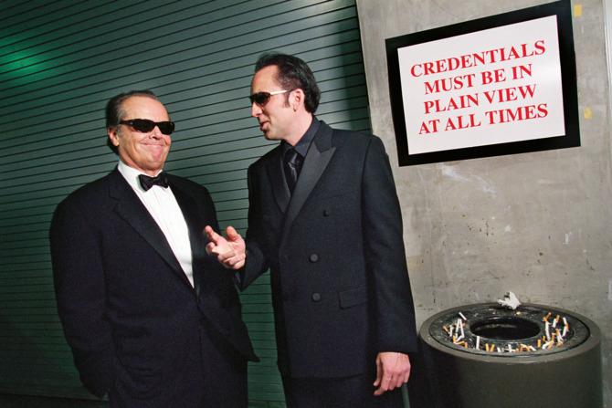 Jack Nicholson Nicolas Cage