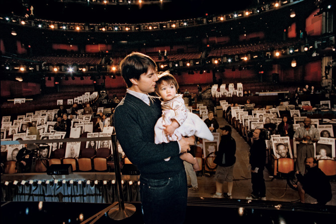 Tom Cruise és kislánya