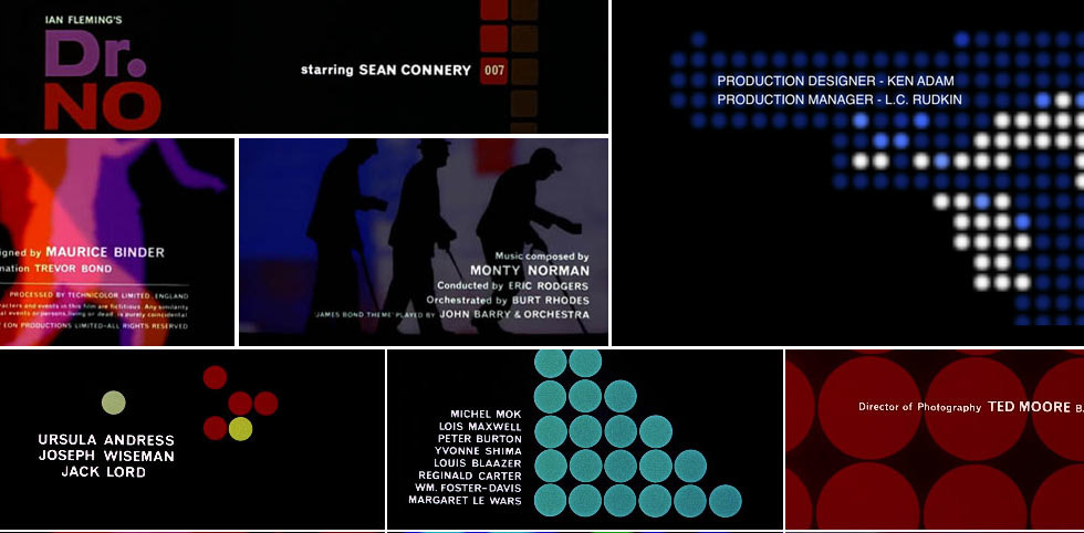 James Bond Dr. No Title Sequence by Maurice Binder