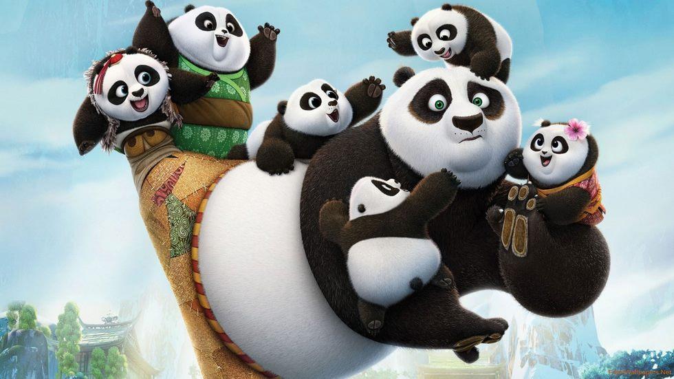 Kung Fu Panda 3 k