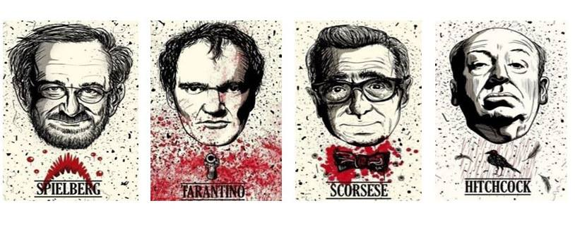 Spielberg Tarantino Scorsese Hitchcock