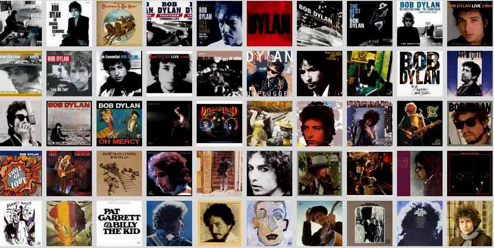 Bob Dylan 75