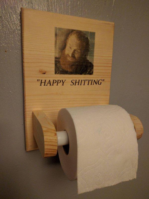 happy shitting
