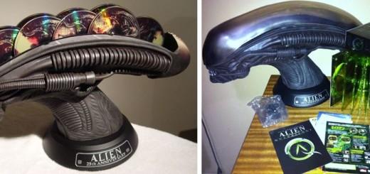 Alien Quadrilogy 25th Annivesary Deluxe Alien Head Limited Edition DVD Box Set, 349 $
