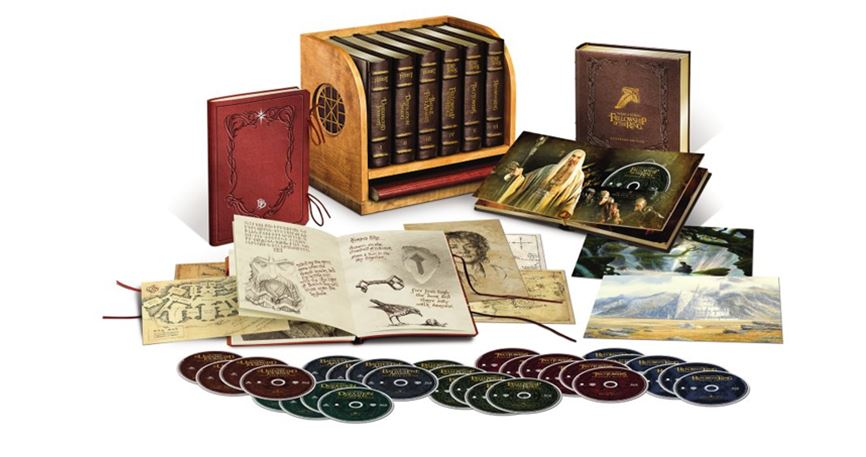Ultimate Lord of the Rings Hobbit Blu-Ray Set (800 $)