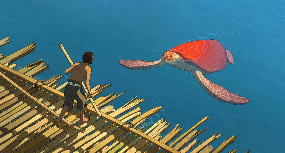 a vörös teknős Aru Shima no Monogatari
