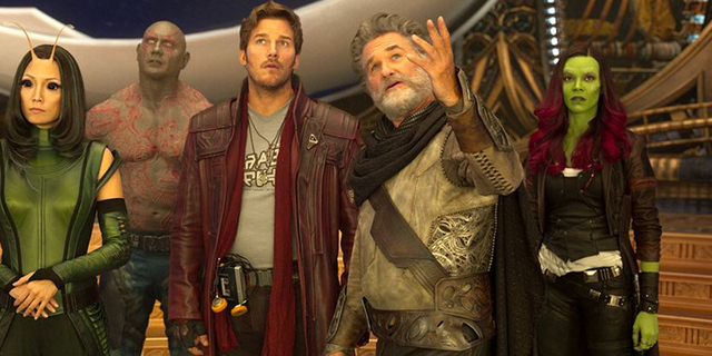 Star Lord meets Ego in Guardians of the Galaxy V