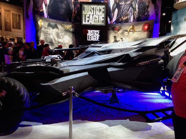 Justice League Batmobile SDCC Side