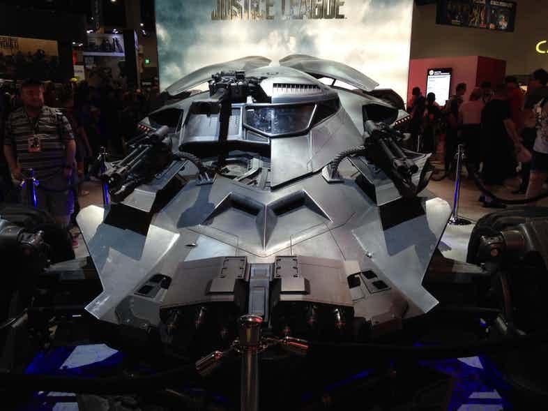 Justice League Batmobile SDCC