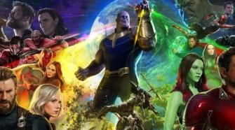 avengers infinity war poster comic con