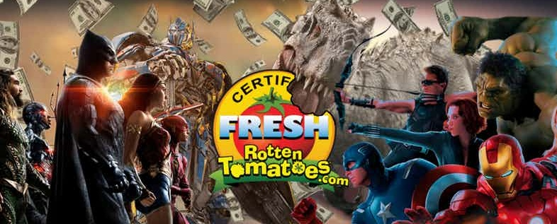 Rotten Tomatoes and Box Office DC Marvel Transformers and Jurrassic Park 1