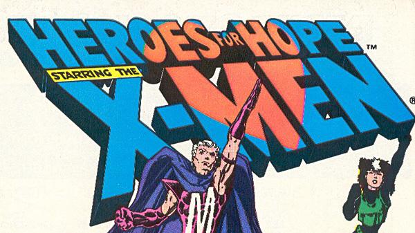 X Men Heroes for Hope logo