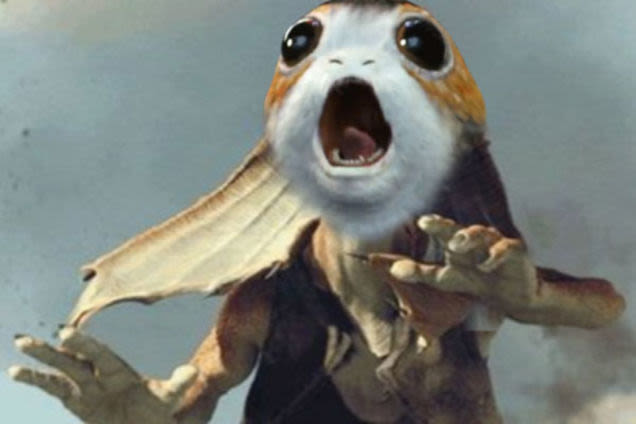 heres a large and ridiculous collection of porg humor that has flooded the internet64