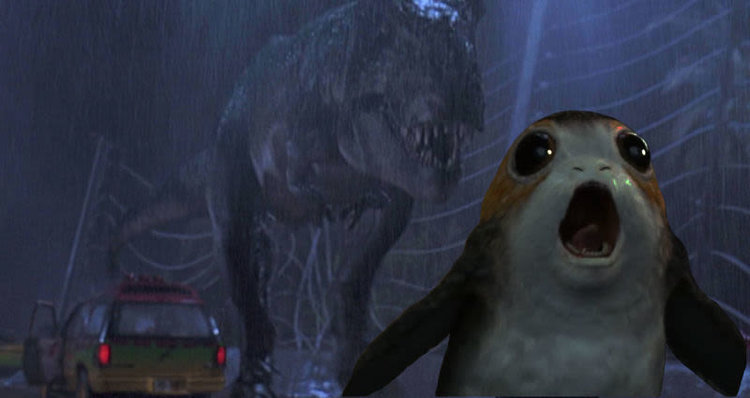 heres a large and ridiculous collection of porg humor that has flooded the internet65