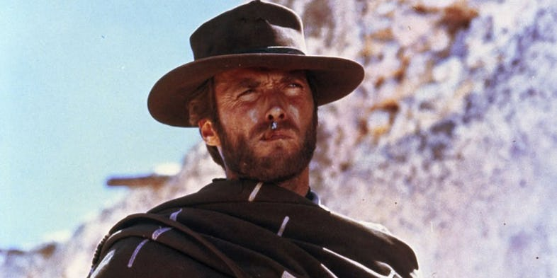 Clint Eastwood in A Fistful of Dollars1