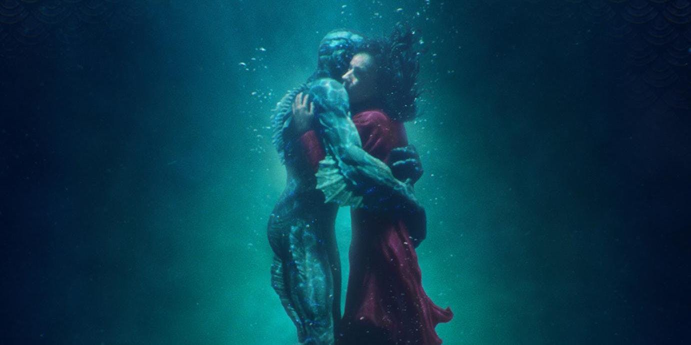 The Shape of Water Poster Cropped