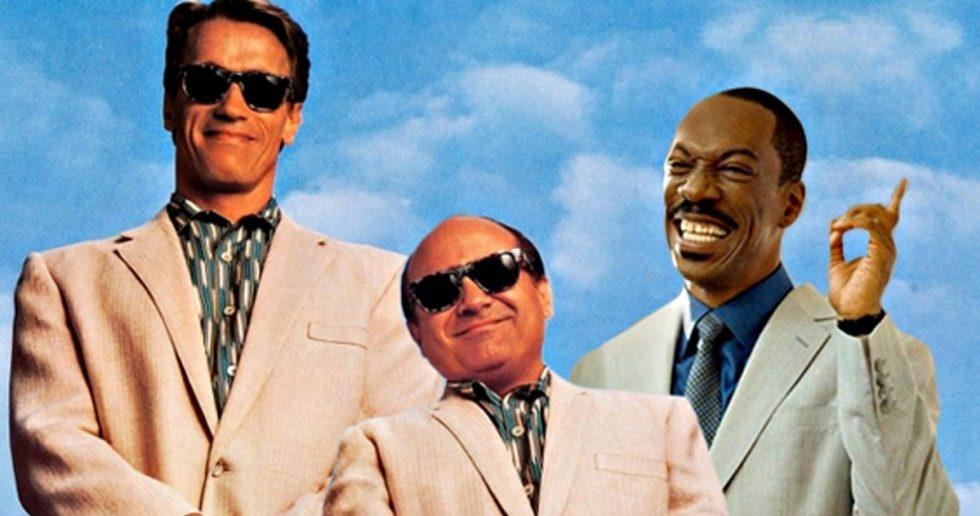 Triplets Movie Arnold Schwarzenegger Shooting