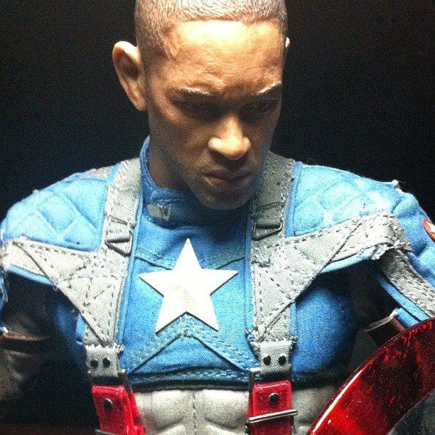 Captain America Will Smith