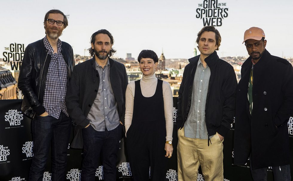 the girl in the spiders web claire foy lakeith stanfield