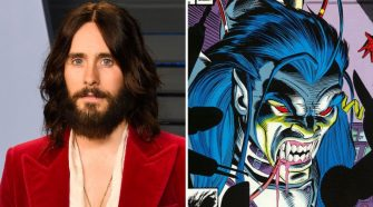 jared leto and morbius the living vampire