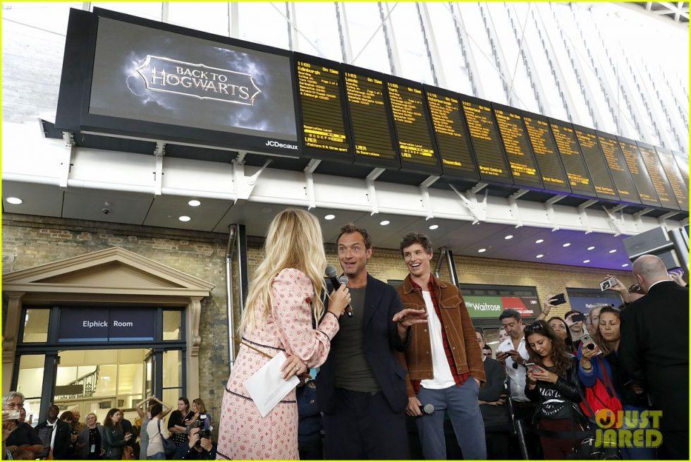 jude law eddie redmayne hogwarts day 02