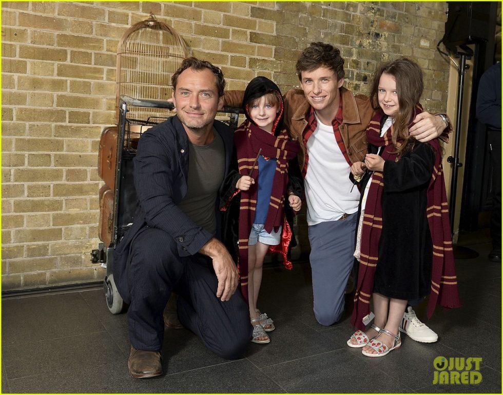 jude law eddie redmayne hogwarts day 09