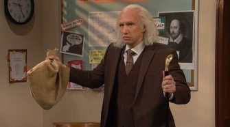 adam driver plays an incredibly old parent in great saturday night live sketch social