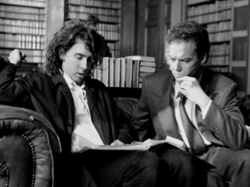 Tim Burton y Michael Keaton