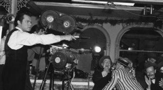 Orson Welles on the set of 22Citizen Kane22 1