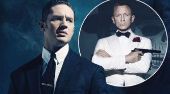 James Bond Tom Hardy Daniel Craig
