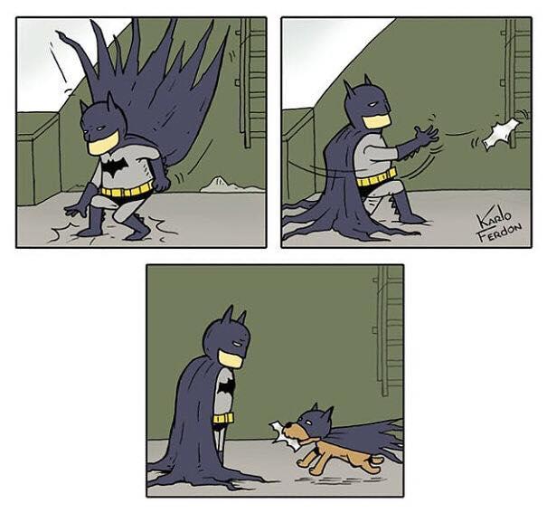 dog batman