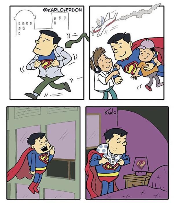 superman pizsama