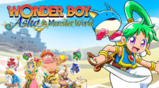 Wonder Boy Asha in Monster World key art