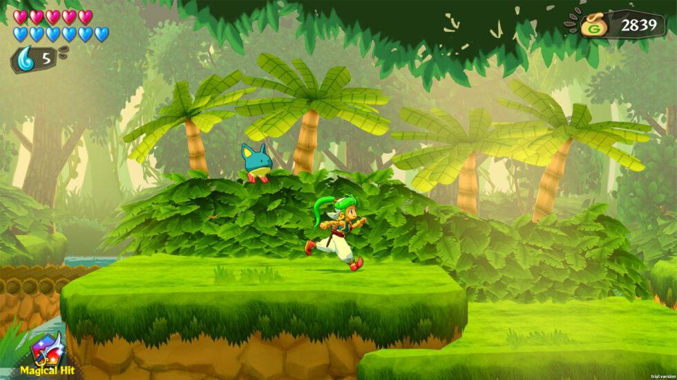 Wonder Boy Asha in Monster World Screenshot 01