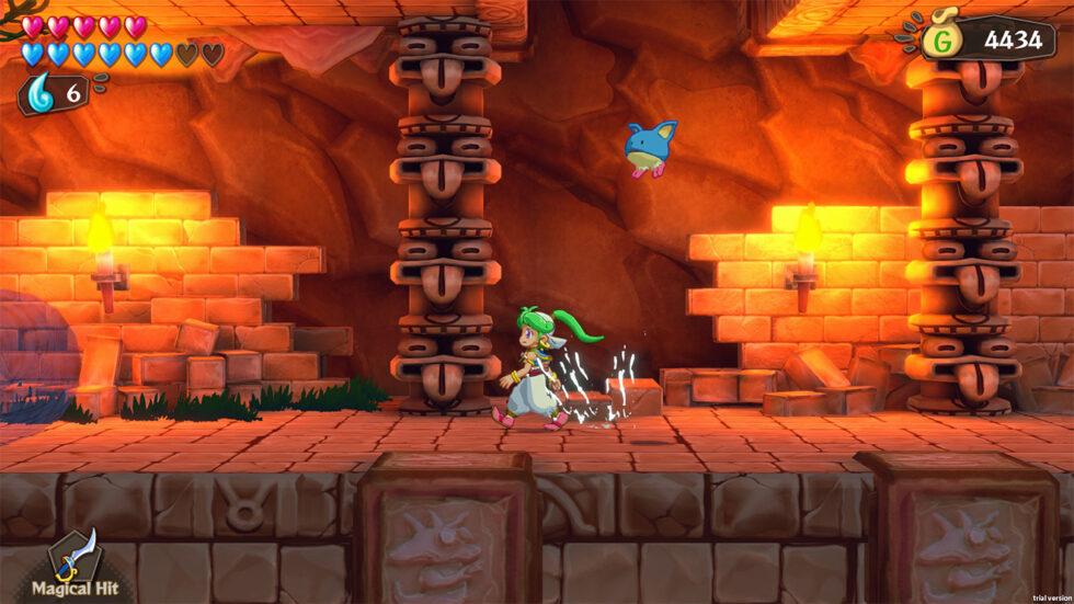 Wonder Boy Asha in Monster World Screenshot 02