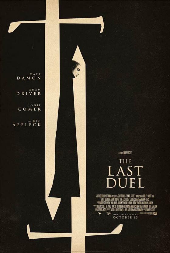 the last duel plakat