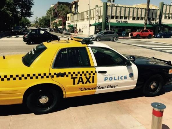 taxi police